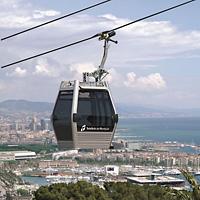 teleferica sul Montjuïc