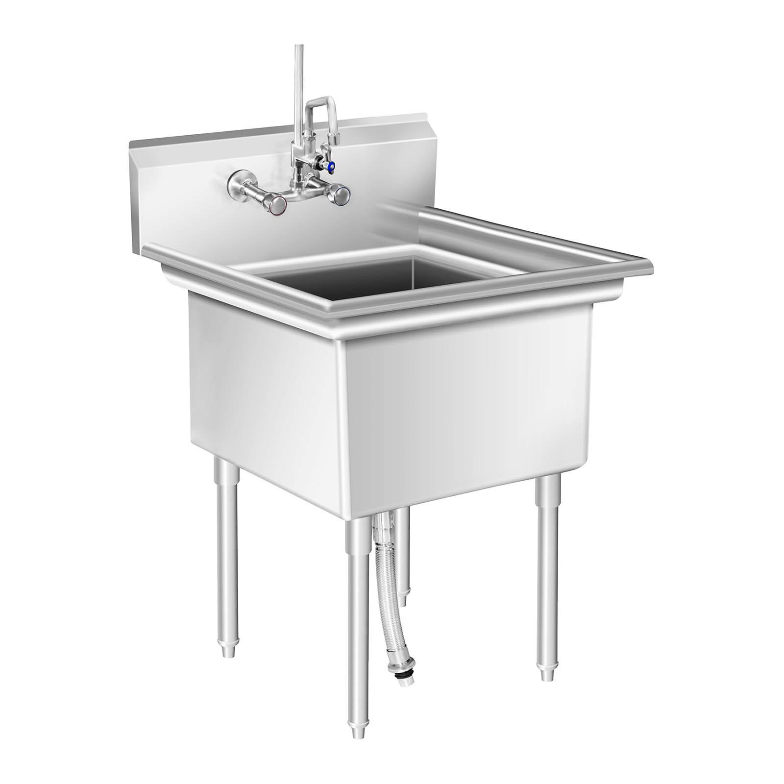title   Industrial Kitchen Sink