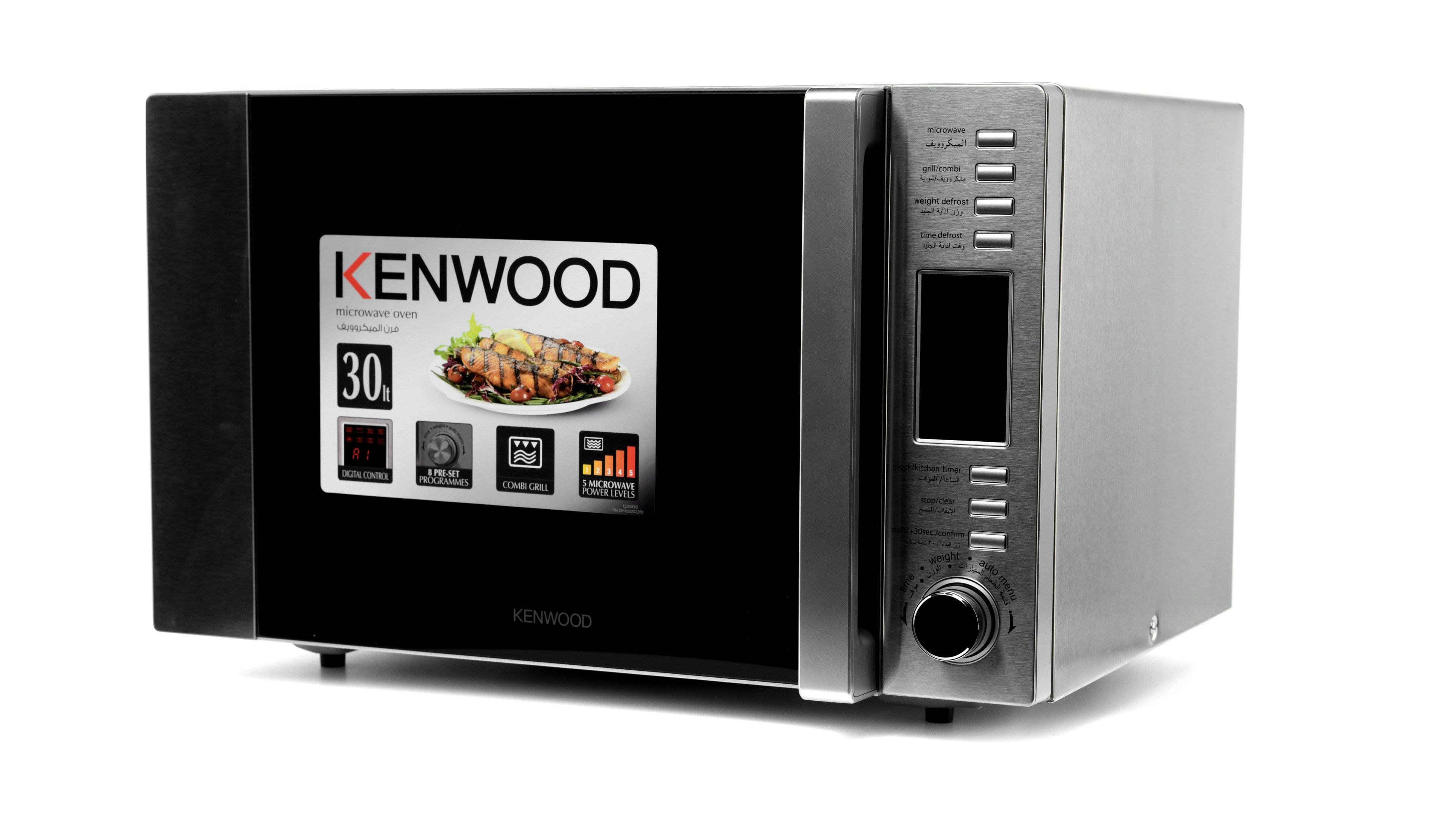 kenwood microwave oven 30l silver