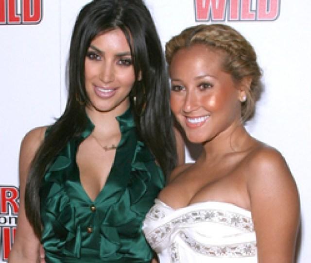 Kim K Slams Rob Kardashians Ex Gf Adrienne Bailon