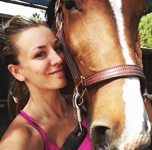 Kaley Cuoco Shoots Down Sam Hunt Dating Rumors