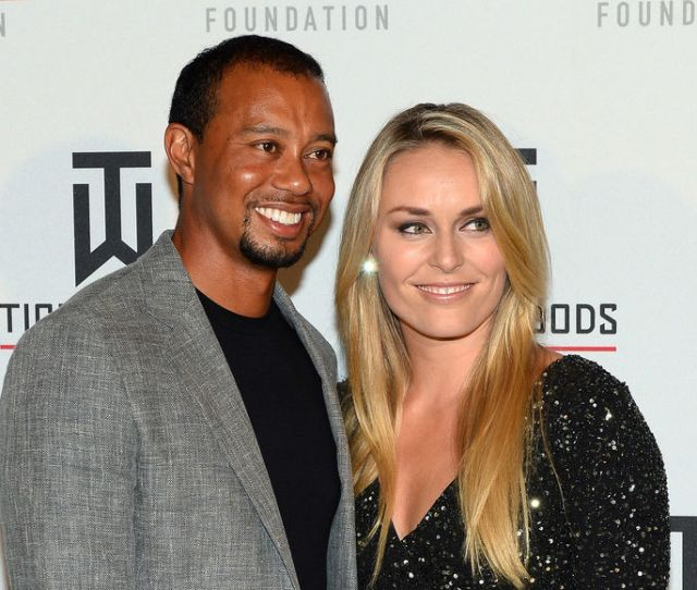 Tiger Woods Dishes On His Close Relationship With Ex Gf Lindsey Vonn