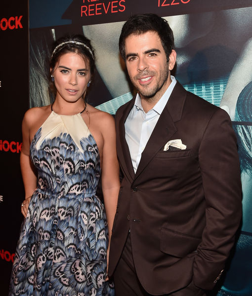 Eli Roth Files for Divorce from Lorenza Izzo   ExtraTV com Eli Roth Files for Divorce from Lorenza Izzo