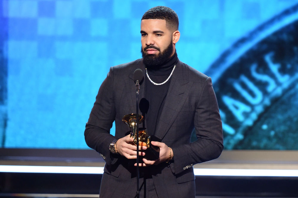 Drake accepts the Best Rap Song award for 'God's Plan' onstage during the 61st Annual GRAMMY Awards