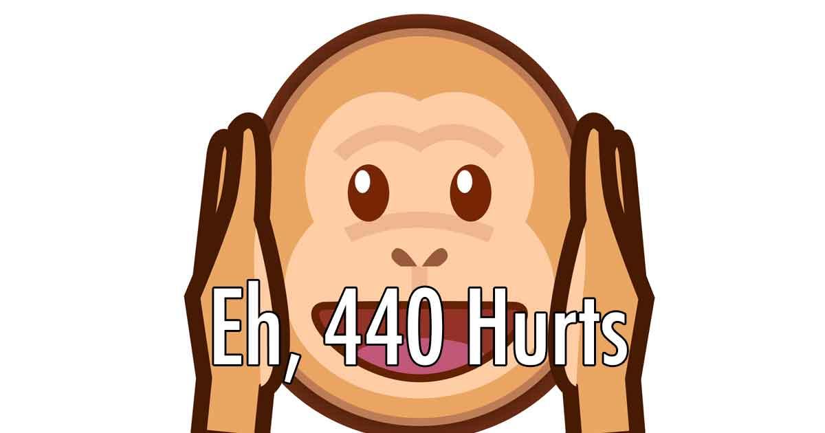 A-440 Hz V. A-432