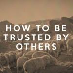 Cómo Confiar En Otros (1 Samuel)
