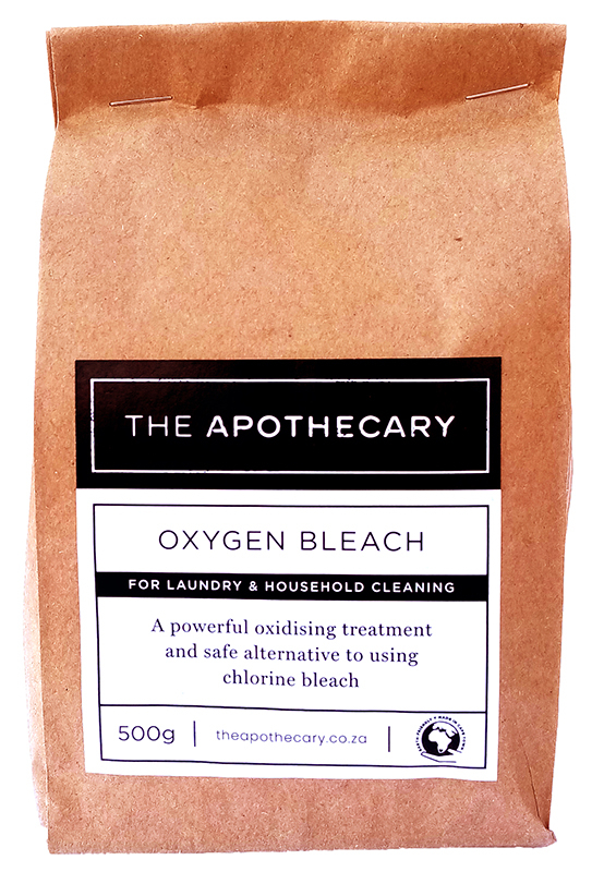 the apothecary oxygen bleach