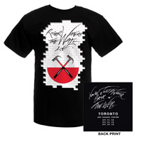 'Roger Waters The Wall Live'  2010 Tour-Toronto Event Tee