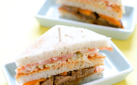 Club sandwich Korean style