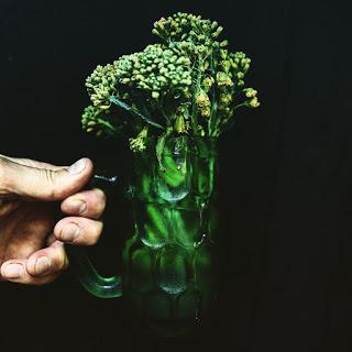 Broccolibuketter står sig bra i vatten hos Farbror Grön