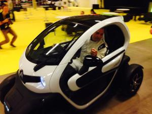 Renault twizy och The Stig