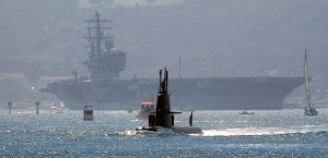 HMS Gotland i San Diego USA