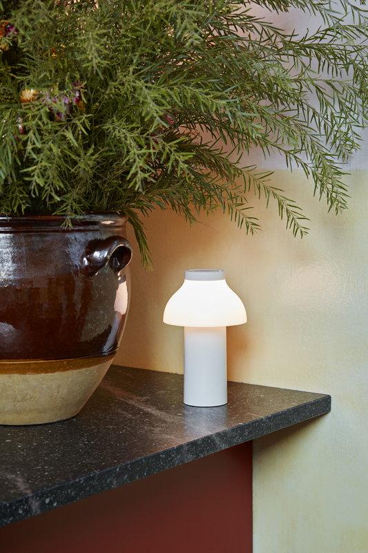 Hay Pc Portable Table Lamp Cream White Finnish Design Shop