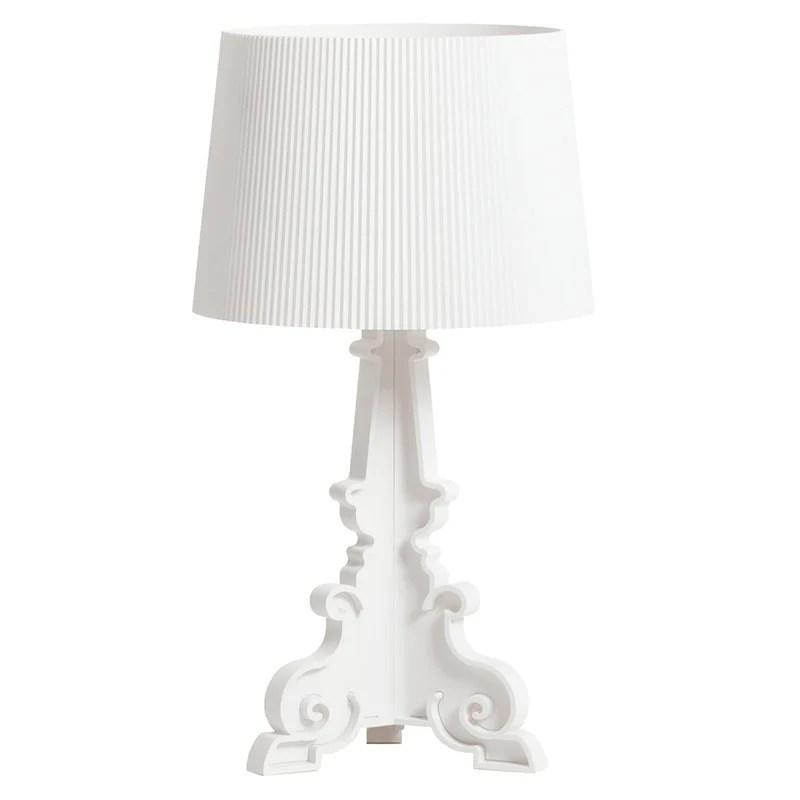 Kartell Bourgie Table Lamp Matt White Finnish Design Shop