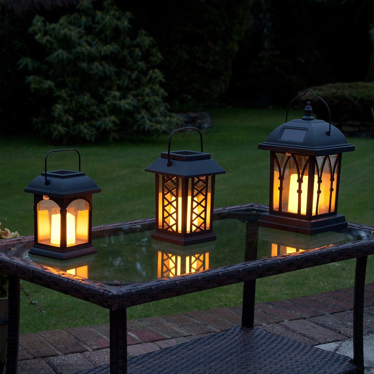 Solar Patio Lanterns