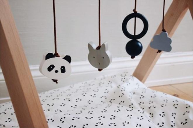 portique d eveil wooden playgym