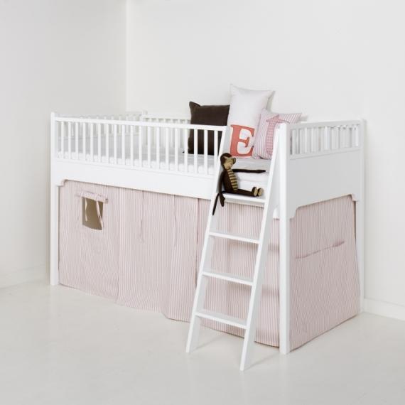 rideau pour lit mezzanine mi hauteur