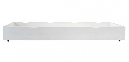 tiroir lit basic wood 90x200 bopita