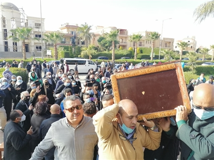 Image search result for Izzat Al-Alaili's funeral