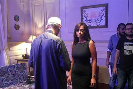 داليا مصطفى في كواليس الجزء الثاني من الكبريت الأحمر ألبومات