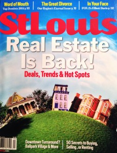 2014 St Louis Magazine 5 Star Agents Cover