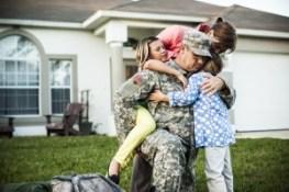 Veteran with Family