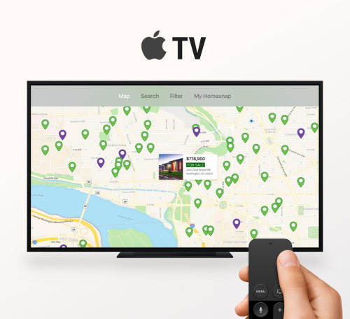Homesnap and Apple TV
