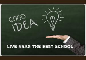 live near the best school