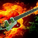 Guitars on Fire