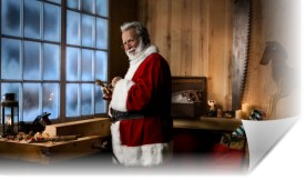 Santa Working in His Workshop 2