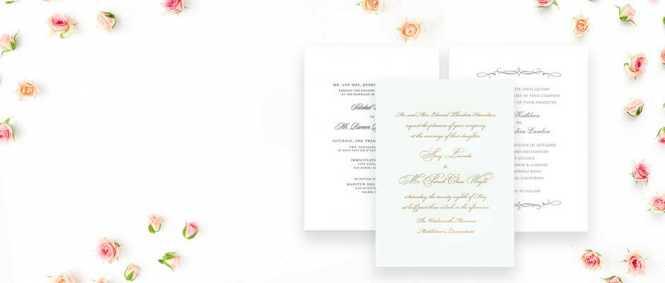 Luxury Wedding Invitations Fine Stationery