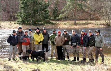 Företagsevent fiske