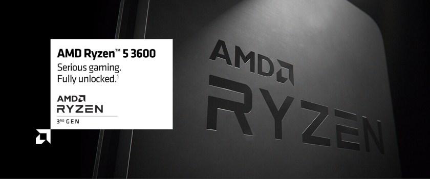 AMD RYZEN 5 3600 6-Core 3.6 GHz (4.2 GHz Max Boost) Socket AM4 65W 100-100000031BOX Desktop Processor 11