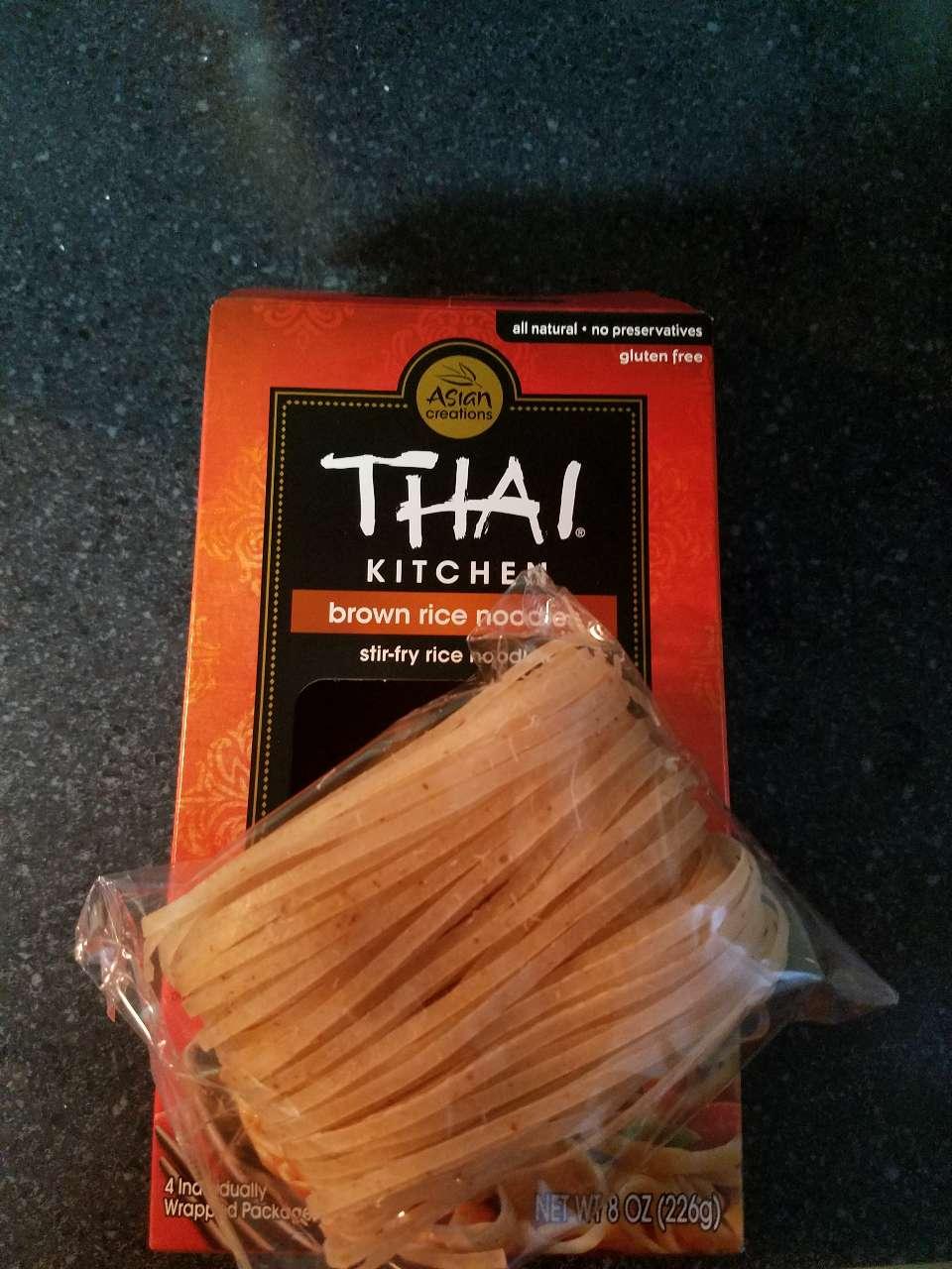 Thai Kitchen Brown Rice Noodles Nutrition Novocom Top