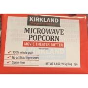 kirkland signature microwave popcorn movie theater butter