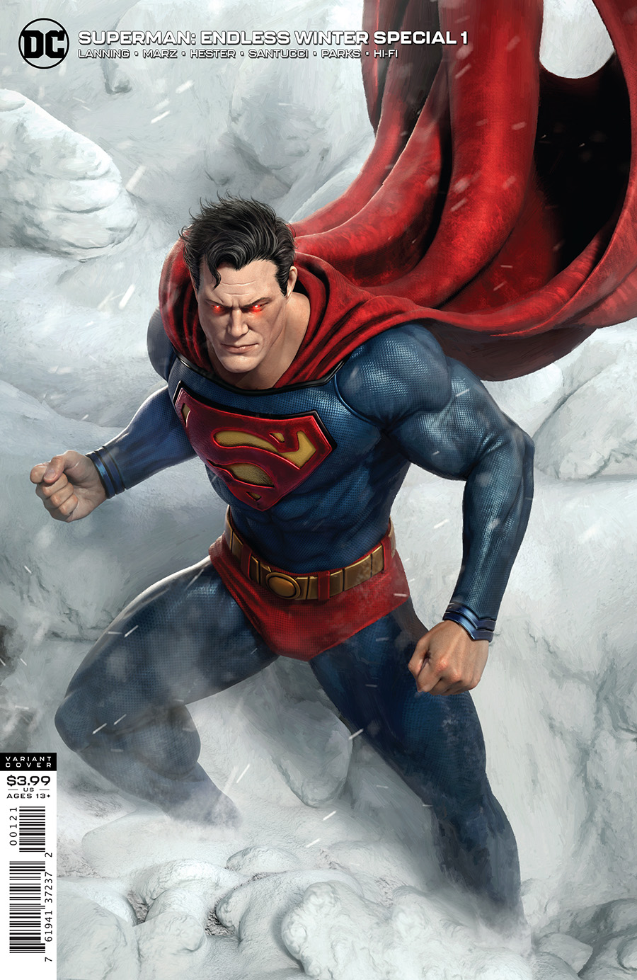 Superman: Endless Winter Special #1 - The Aspiring Kryptonian