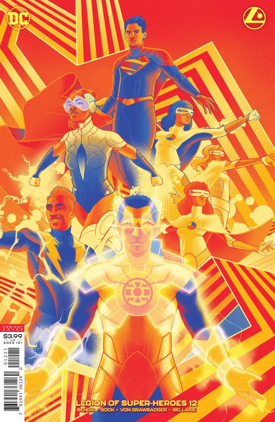 Legion Of Superheroes #12 Review - The Aspiring Kryptonian
