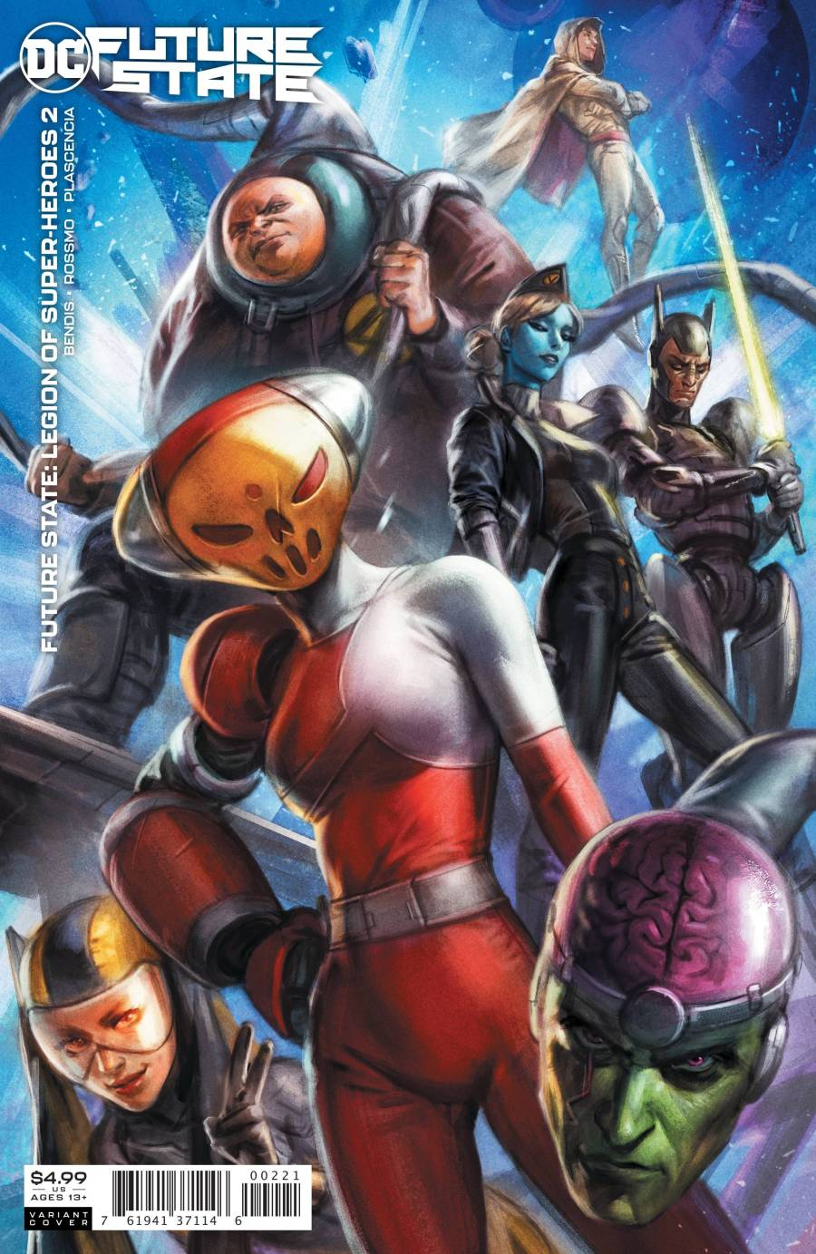 Future State: Legion Of Super Heroes #2 Review | The Aspiring Kryptonian