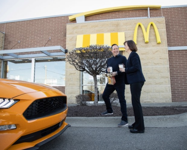 Ford McDonalds Kaffee Recyling