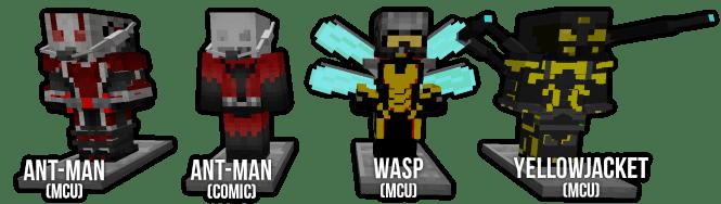 Pocket Heroes Mod Ant Man