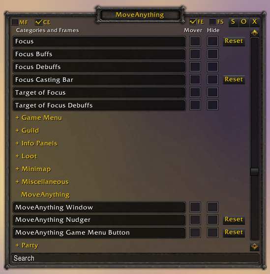 Wow Frame Stack Tooltip   Amtframe org