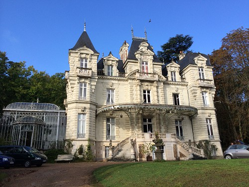 Hotel castelo no vale do loire