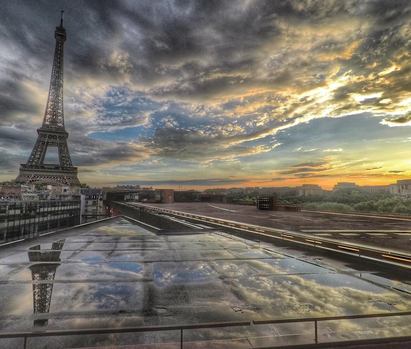 Rooftops em Paris