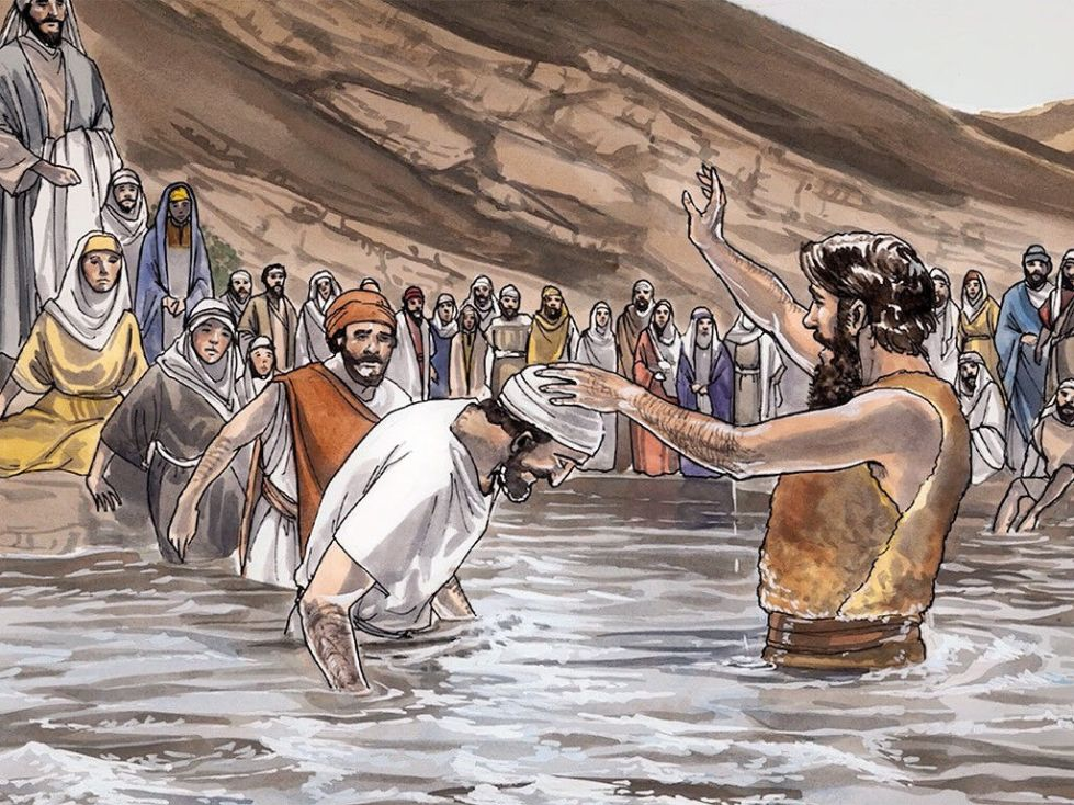 Image result for john the baptist baptizing