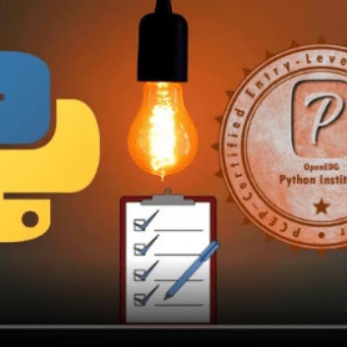 Python PCEP: Pass Certified Entry-Level Python Programmer