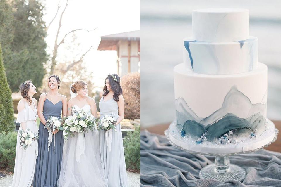 Top Wedding Colors Of 2019 & Groom's Style