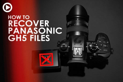How To Recover Corrupt Panasonic GH4 and GH5 .mdf Files