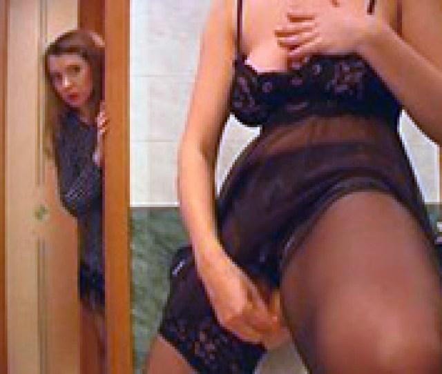 Shocked Girl Walked In On Her Slutty Girlfriend Masturbating Fuqer Video
