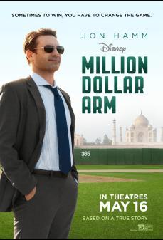 تحميل فلم Million Dollar Arm ذراع بمليون دولار أمريكي اونلاين