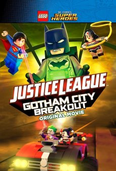 تحميل فلم LEGO DC Comics Super Heroes: Justice League – Gotham City Breakout  اونلاين